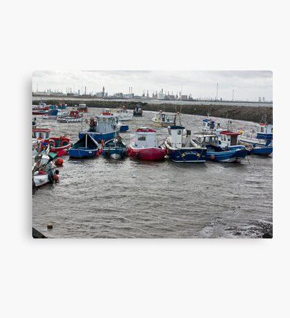 Safe Anchorage Canvas Print
