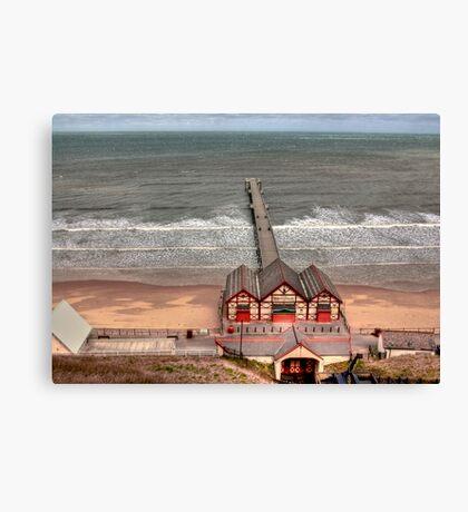 Saltburn Pier Canvas Print