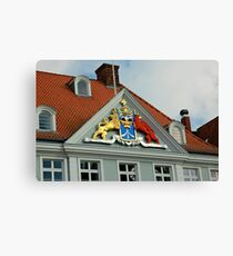 MVP23 Coat of Arms, Stralsund, Germany. Canvas Print