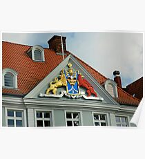 MVP23 Coat of Arms, Stralsund, Germany. Poster