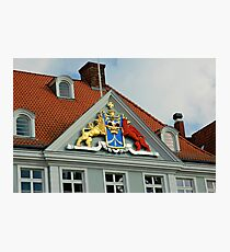 MVP23 Coat of Arms, Stralsund, Germany. Photographic Print
