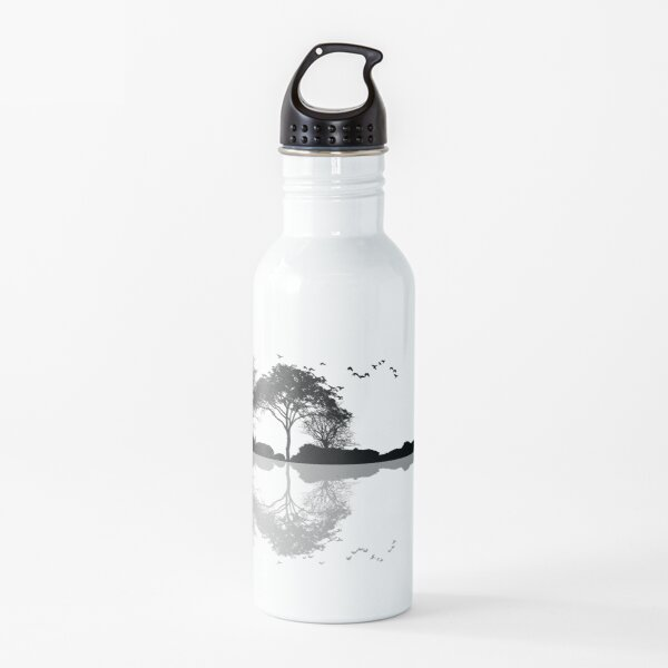 Nature Guitar Water Bottle