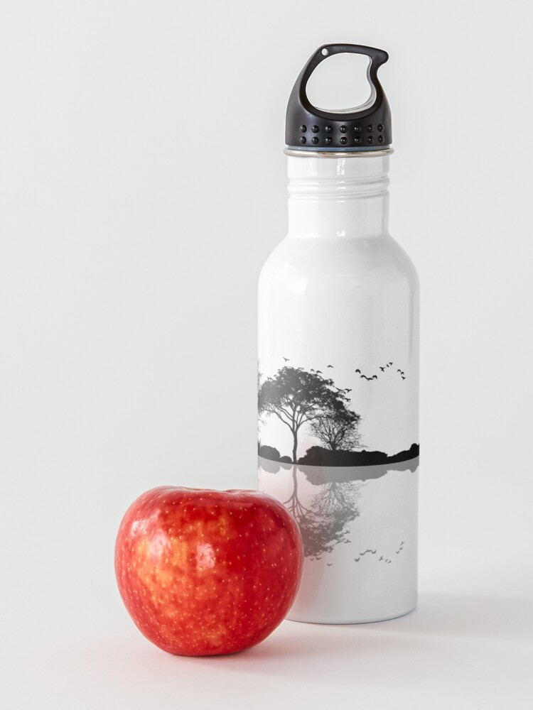 Alternate view of Nature Guitar Water Bottle