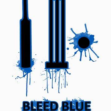 Bleed Blue for India by VTimesV