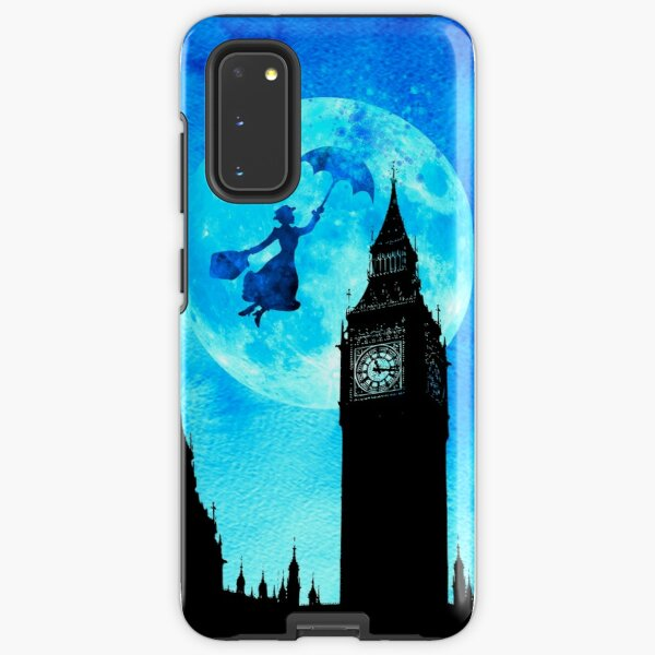 Magical Watercolor Night - Mary Poppins Samsung Galaxy Tough Case