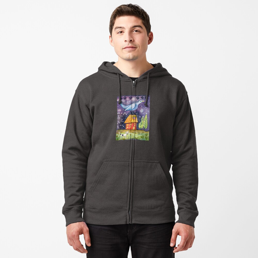The Little Life Zipped Hoodie