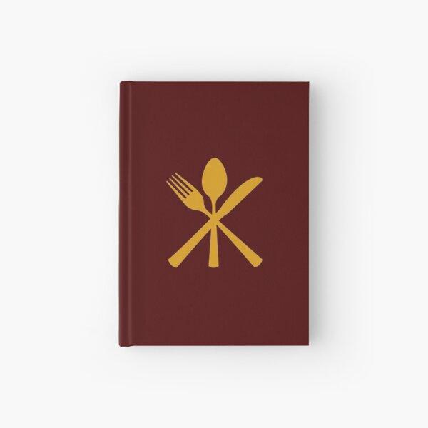 Just Add Magic Utensils Gold Hardcover Journal