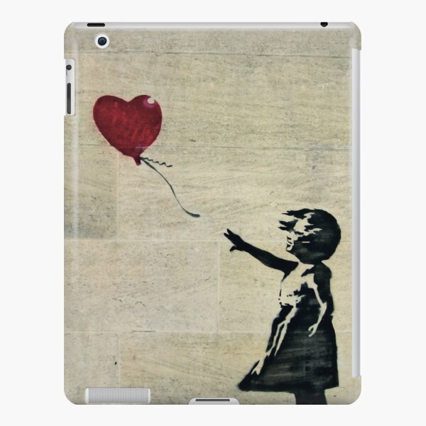 Banksy's Girl with a Red Balloon III iPad Snap Case