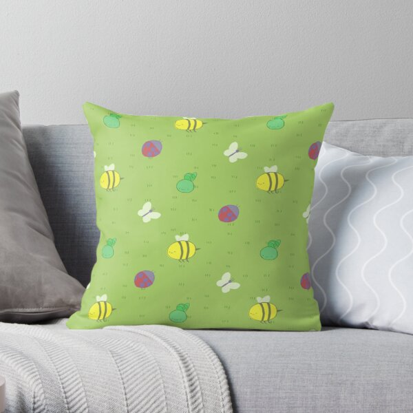 Adventure Time™ end credits pattern Throw Pillow