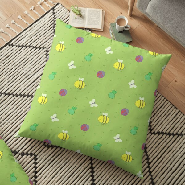 Adventure Time™ end credits pattern Floor Pillow