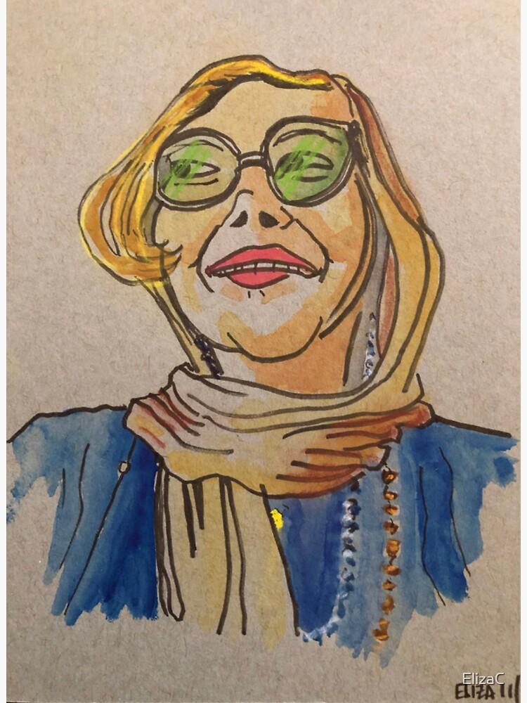 Debonair Lady in a Head-scarf by ElizaC