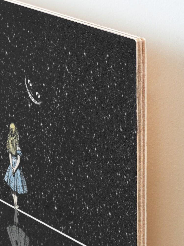 Alternate view of Alice In Wonderland Starry Night Mounted Print