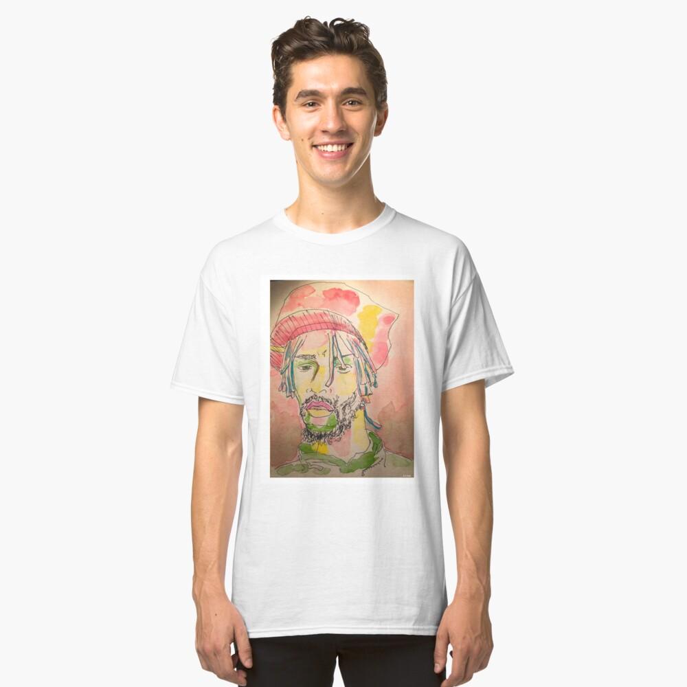 Thoughtful Man Classic T-Shirt