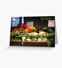 Fresh Produce Greeting Card