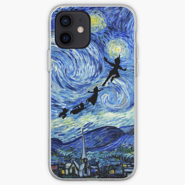 Peter Pan Starry Night iPhone Soft Case