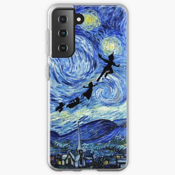 Peter Pan Starry Night Samsung Galaxy Soft Case