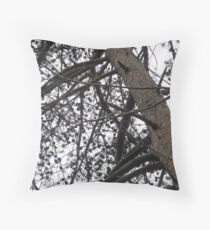 New Jersey Pines Throw Pillow