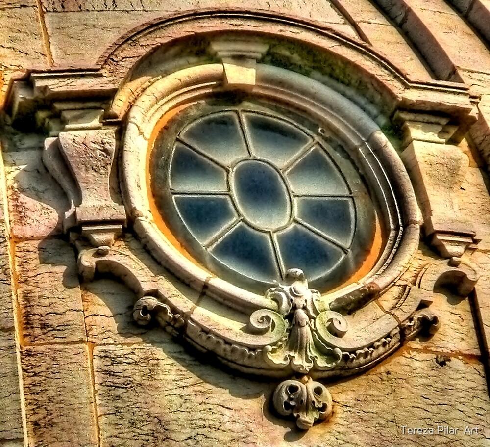 W. window. Igreja da Boa Hora. Lisboa by terezadelpilar ~ art & architecture