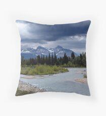 Near Payne Lake, Alberta Throw Pillow