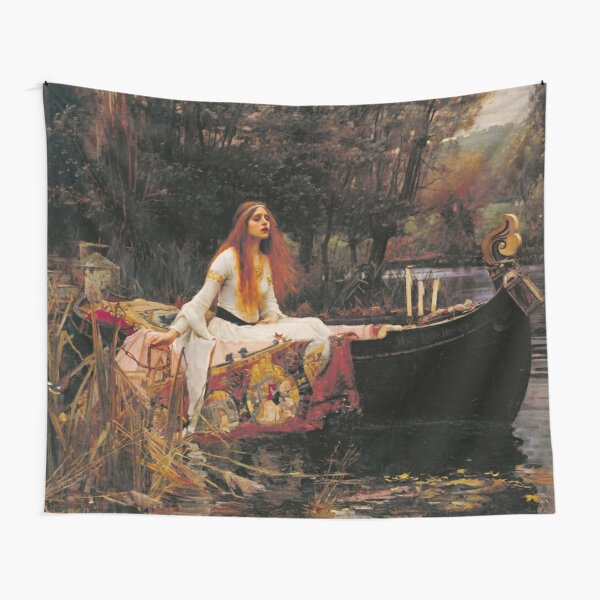 The Lady of Shallot - John William Waterhouse  Tapestry