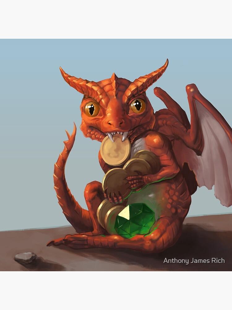 Baby Dragon | Digital Illustration by AJRart