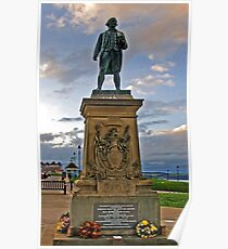 Captain James Cook RN. Poster