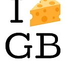 I Cheese GB by GBSwagShop