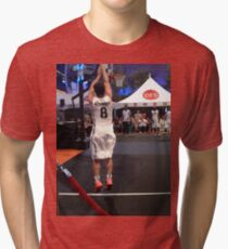 JHutch jump shot Tri-blend T-Shirt