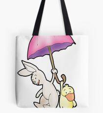 under my umbrella Tote Bag
