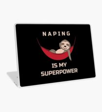 Naping Is My Superpower - Funny Sloth Laptop Folie