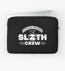 Official Member Of The Sloth Crew - Team Sloth Laptoptasche