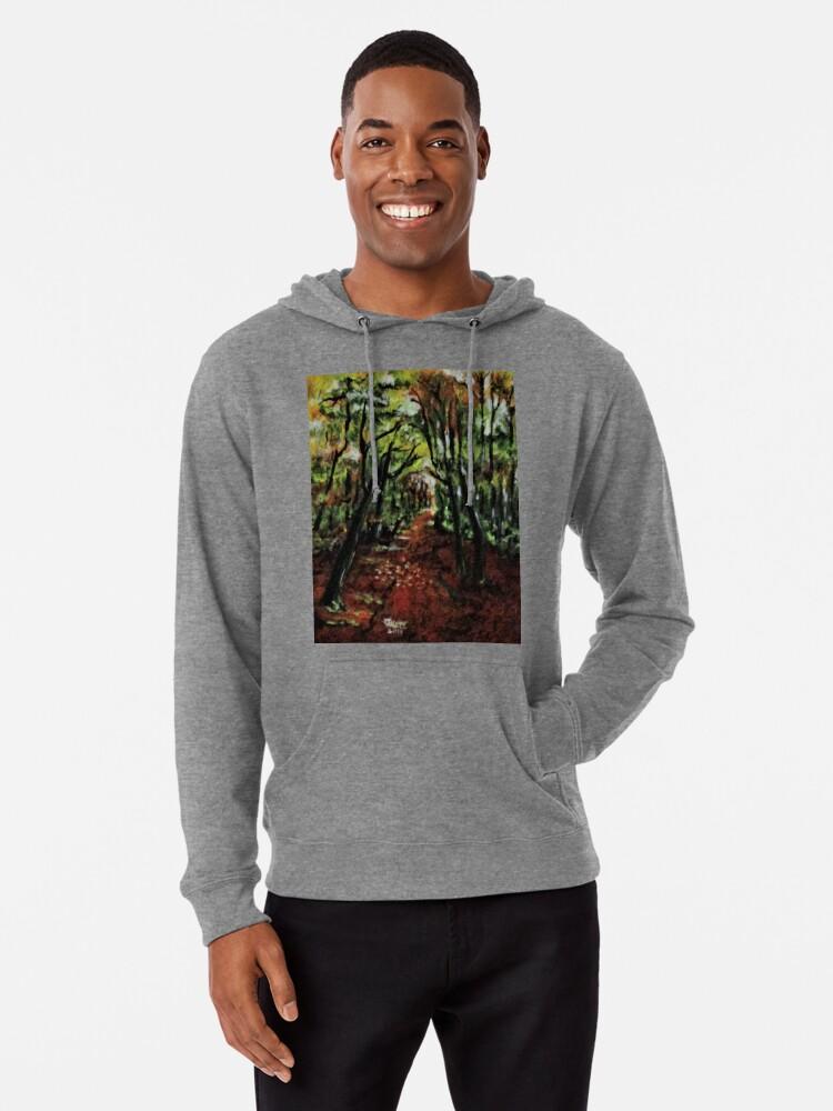 Alternate view of Trees No3. Lightweight Hoodie