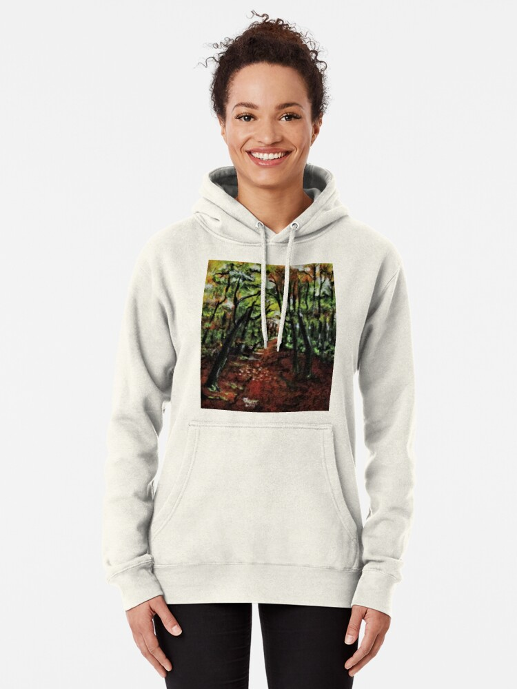 Alternate view of Trees No3. Pullover Hoodie
