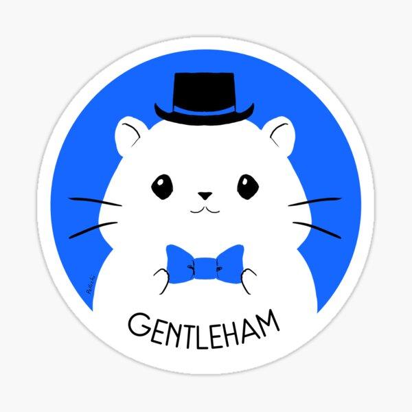 Gentleham Sticker