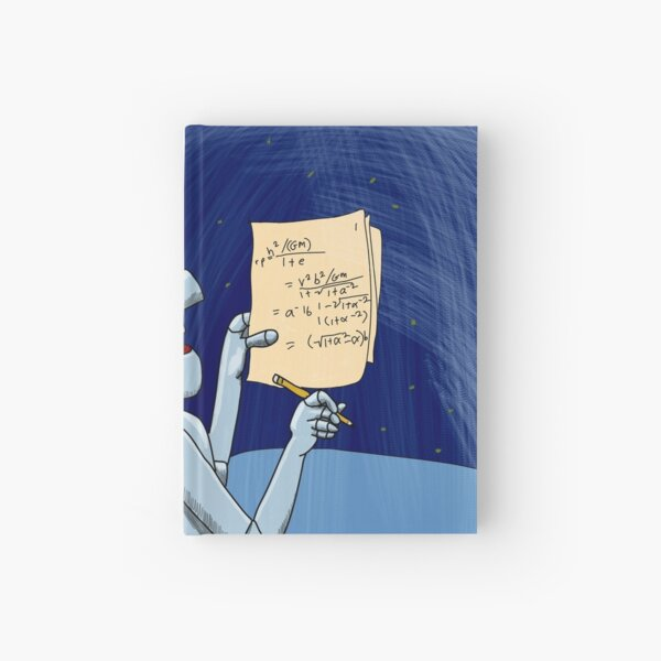 Newtral the Robot Hardcover Journal