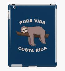 Pura Vida Costa Rica - Cool Costa Rica Sloth iPad-Hülle & Klebefolie