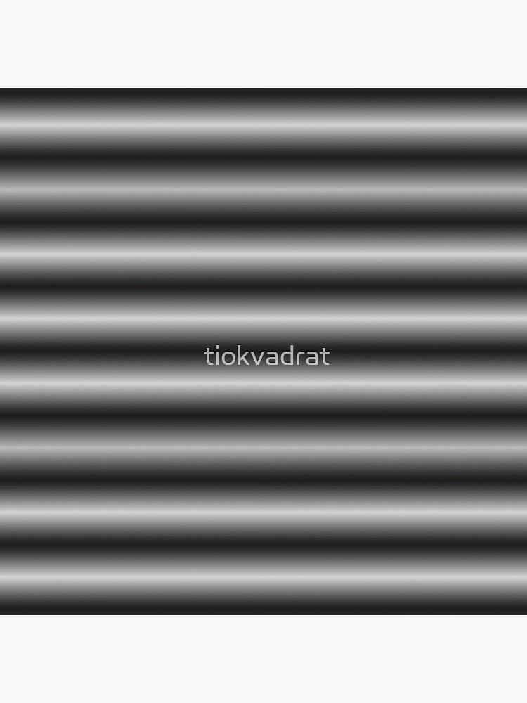 Vibrating Horizontal Bars - Gray / Grey by tiokvadrat