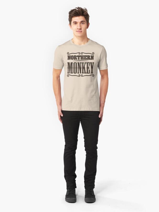 Alternate view of NDVH Northern Monkey Slim Fit T-Shirt