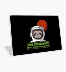 We Will Get There When We Get There - Mars Mission Laptop Folie
