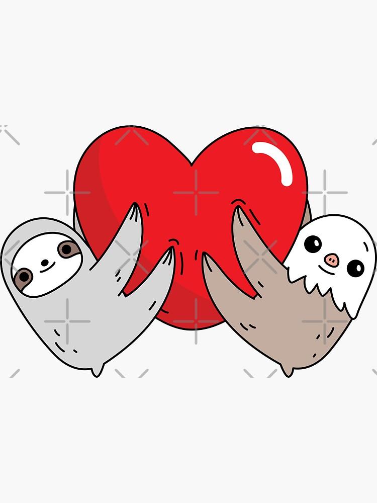 The love sloths  by Miri-Noristudio