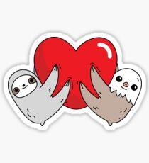The love sloths  Sticker