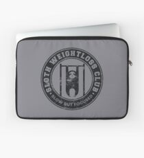 Sloth Weightloss Club Slow But Focused - Funny Team Sloth Laptoptasche