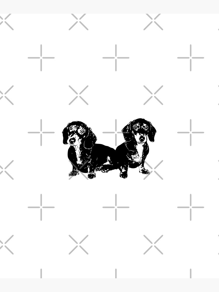 Two Dachshund Puppies by tribbledesign