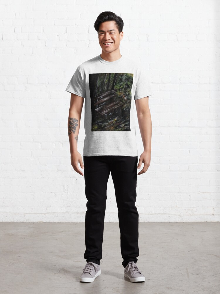 Alternate view of Trees No4. Classic T-Shirt