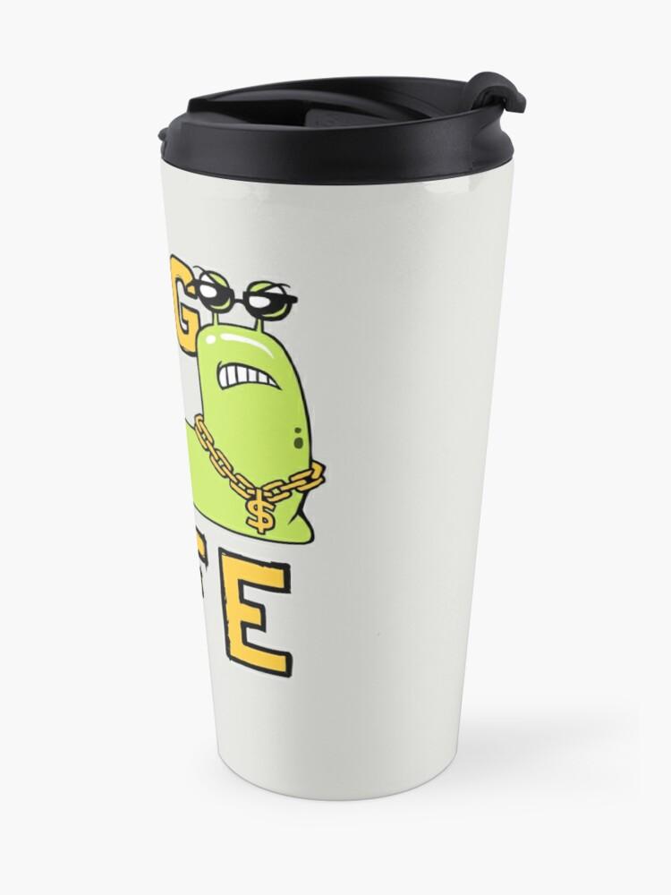 Alternate view of Slug Life Travel Mug