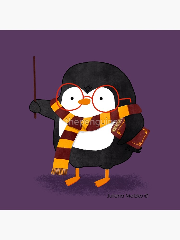 The Wizard Penguin by thepenguins