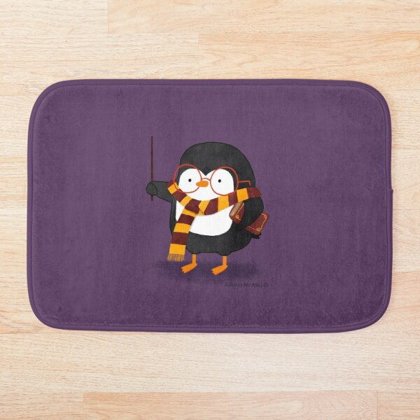 The Wizard Penguin Bath Mat