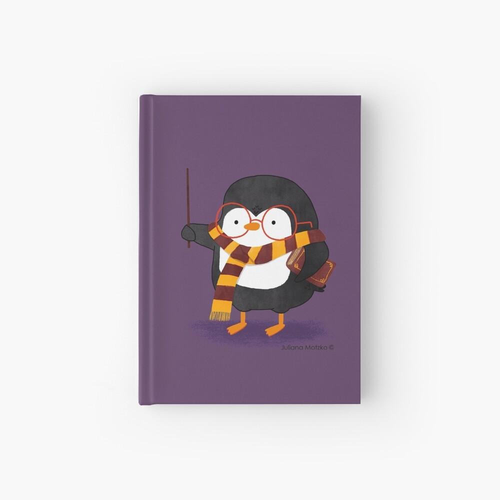 The Wizard Penguin Hardcover Journal