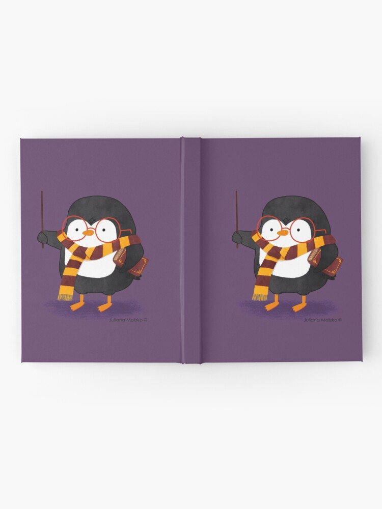 Alternate view of The Wizard Penguin Hardcover Journal