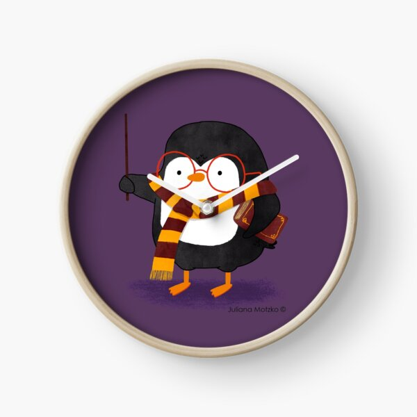 The Wizard Penguin Clock